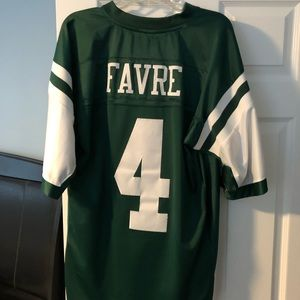 Authentic Brett Favre #4 New York Jets Jersey